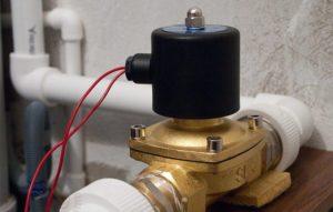 электромагнитные клапана в системах против потопов
