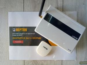 как подключить радиодатчик Neptun