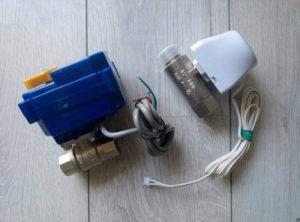 краны с электроприводом Аквасторож и Neptun