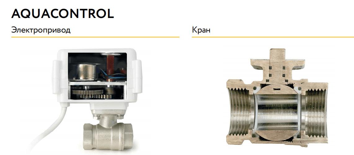кран neptun aquacontrol в разрезе