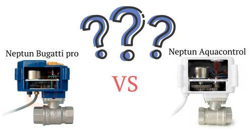 в чем разница между neptun bugatti pro и neptun aquacontrol